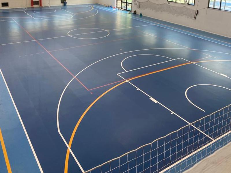 pavimenti sportivi in gomma per sport indoor