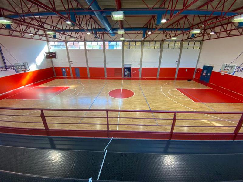 pavimentazioni sportive in legno